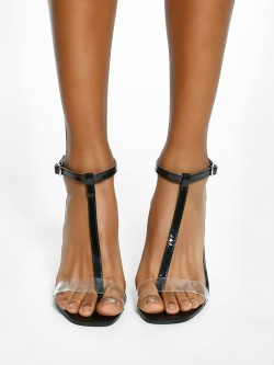 Intoto T-Strap Heeled Sandals