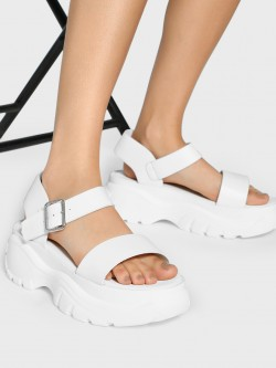 Truffle Collection Basic Chunky Sole Sandals