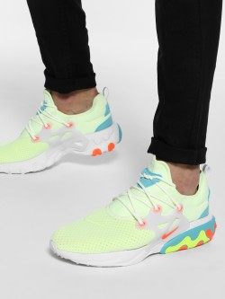 Nike React Presto Barely Volt Shoes