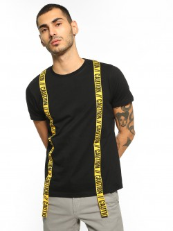 Garcon Caution Twin Tape T-Shirt