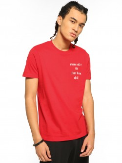 Garcon Slogan Placement Print T-Shirt