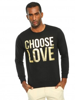Garcon Choose Love Foil Print T-Shirt