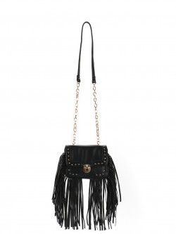 Paris Belle Stud Detail Sling Bag