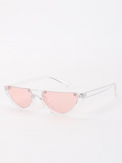 Sneak-a-Peek Half Frame Classic Sunglasses