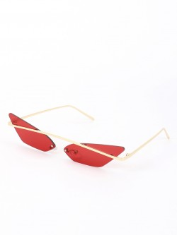 Sneak-a-Peek Coloured Retro Cateye Sunglasses