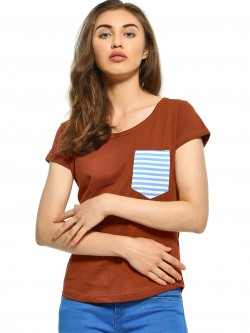The Dry State Stripe Patch Pocket T-Shirt