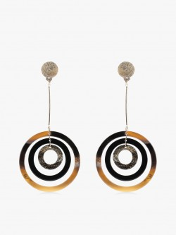 Zero Kaata Multi-Hoop Drop Earrings
