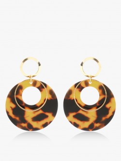 Zero Kaata Animal Print Resin Earrings