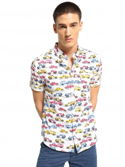 Soulstar All Over Car Print Shirt