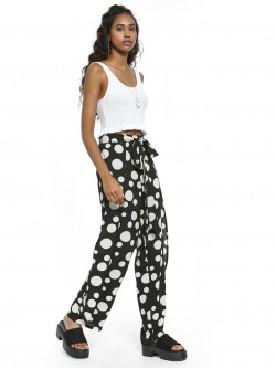 Ri-Dress Bubble Dot Print Trousers