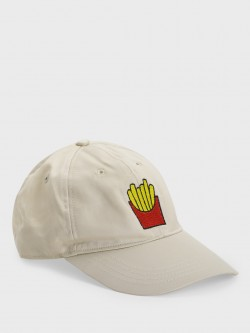 Lazy Panda French Fries Embroidered Cap