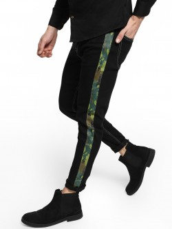 REALM Camo Side Tape Slim Jeans