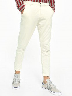 KOOVS Basic Interlock Slim Fit Chinos