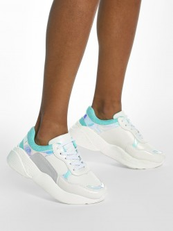 My Foot Couture Suede Mesh Holographic Chunky Sole Trainers