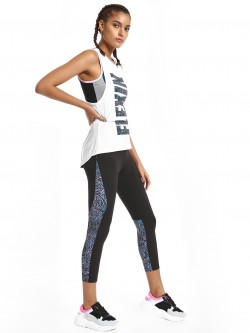 K ACTIVE KOOVS Abstract Print Panel Leggings