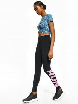 K ACTIVE KOOVS Run Placement Print Leggings