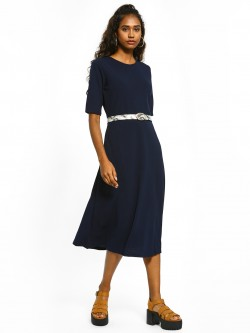 Femella Fit And Flare Midi Dress