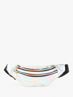 Origami Lily Holographic Bum Bag
