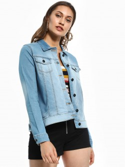 Blue Saint Light Wash Denim Jacket