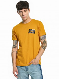 Garcon Detachable Velcro Text Patch T-Shirt