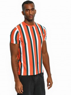 Garcon Yarn Dyed Vertical Stripe T-Shirt
