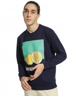 Garcon Sweet Lemon Placement Print Sweatshirt