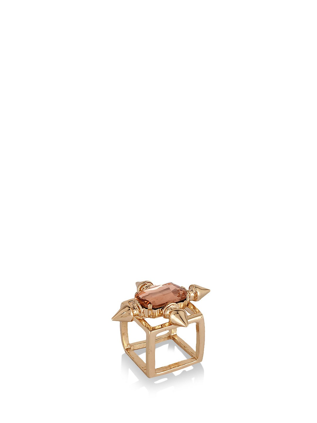 Kerkes Gold Boxy Ring 1