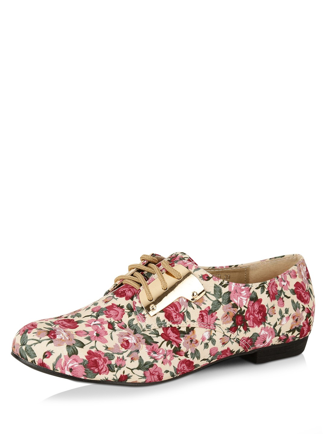 Buy My Foot Floral Floral Print Flat Shoes for Girls Online