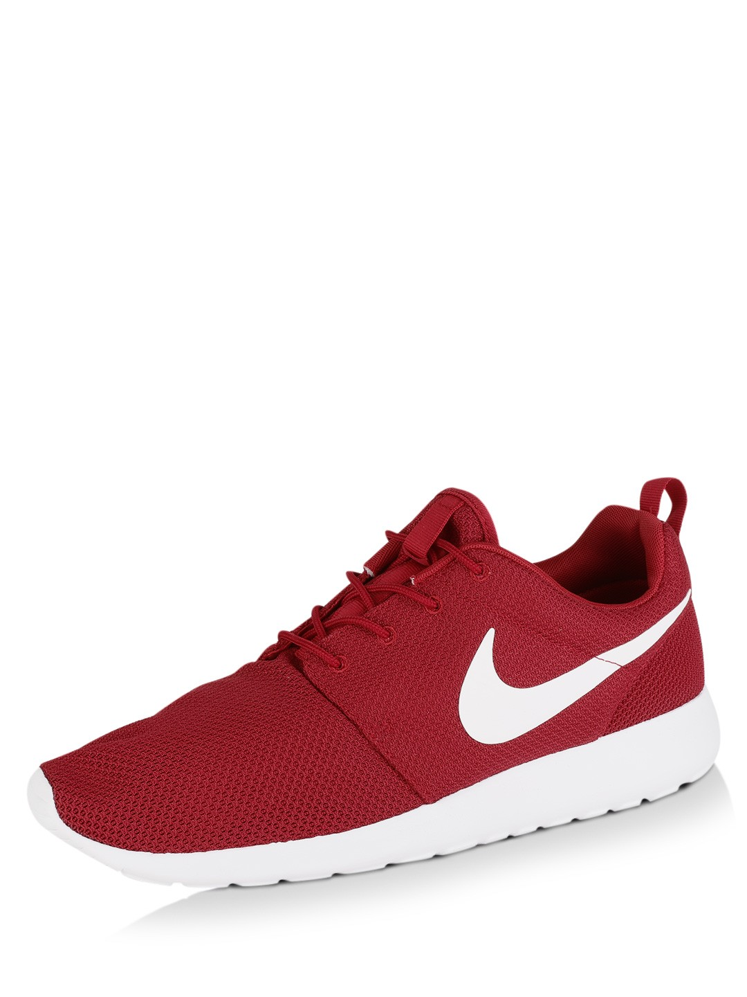 premium selection c6d38 ff5d3 Buy Nike Red/White Roshe One Trainers for Men Online in India