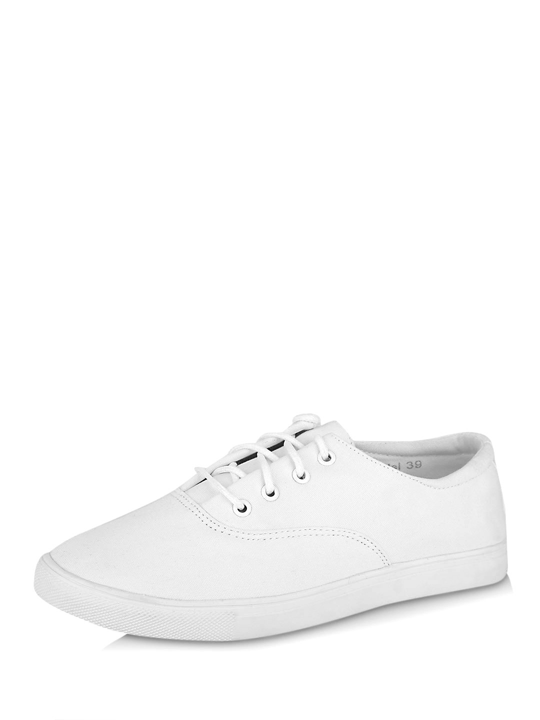 Buy My Foot Couture White My Foot Lace Up Tennis Shoes For Girls Online -5631
