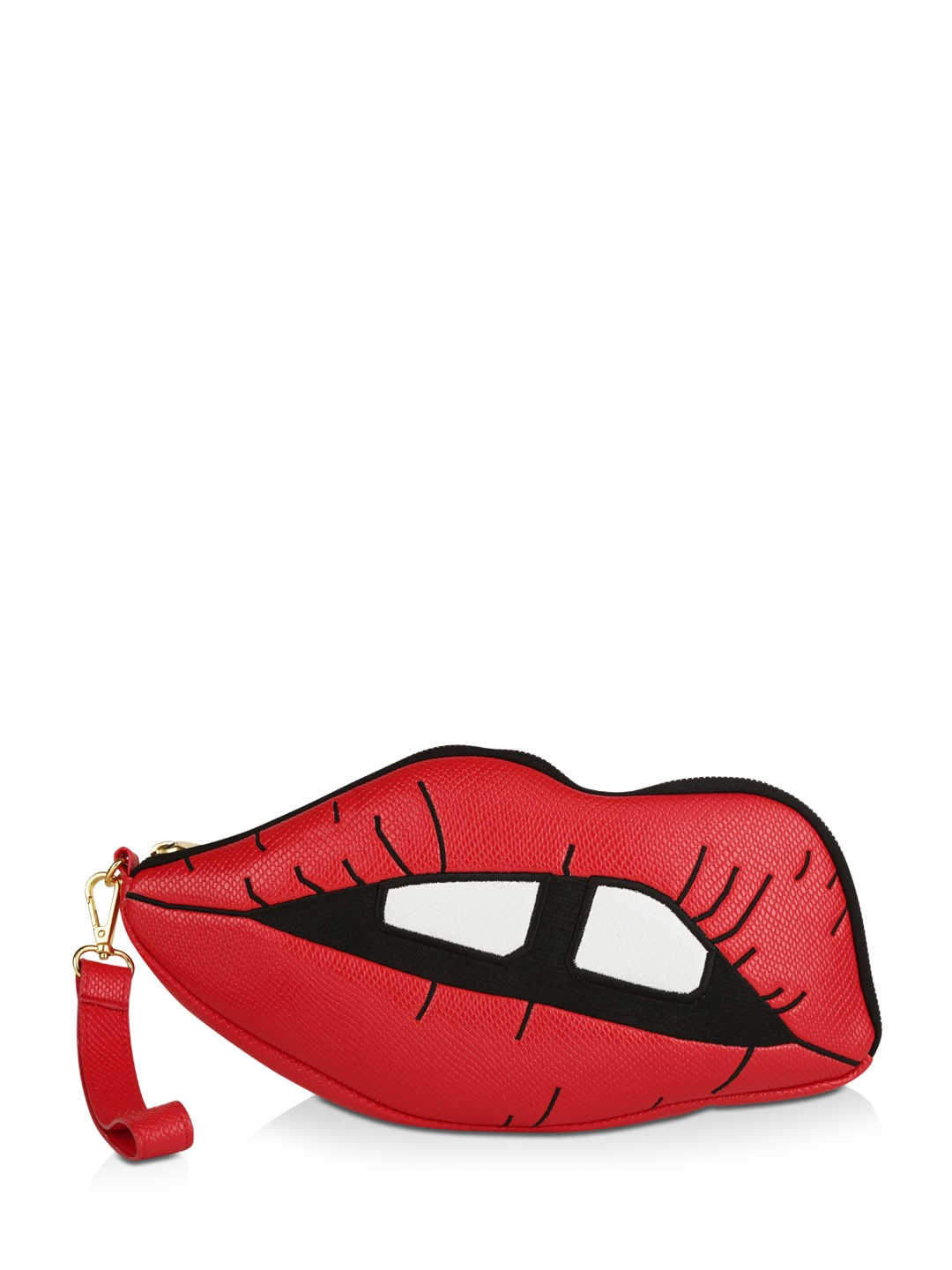 Skinny Dip Red Lips Clutch 1