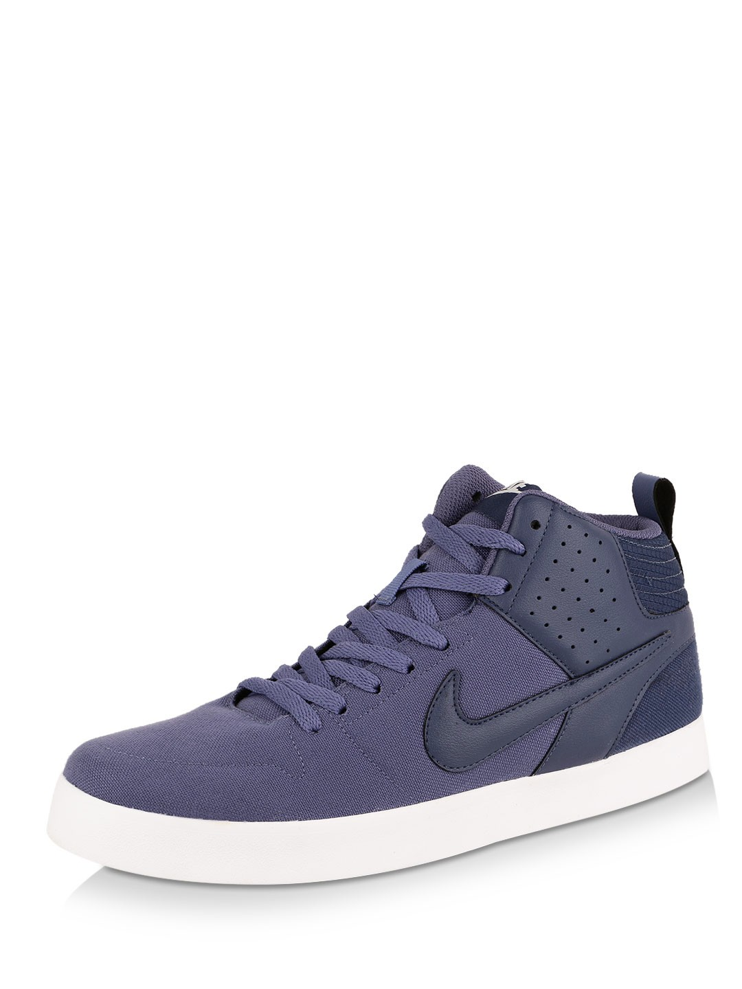 Nike PURPLE/BLUE/WHITE Liteforce Iii Mid Trainers 1