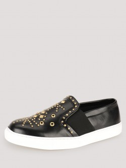 KOOVS Stud Detail Slip-On Plimsolls