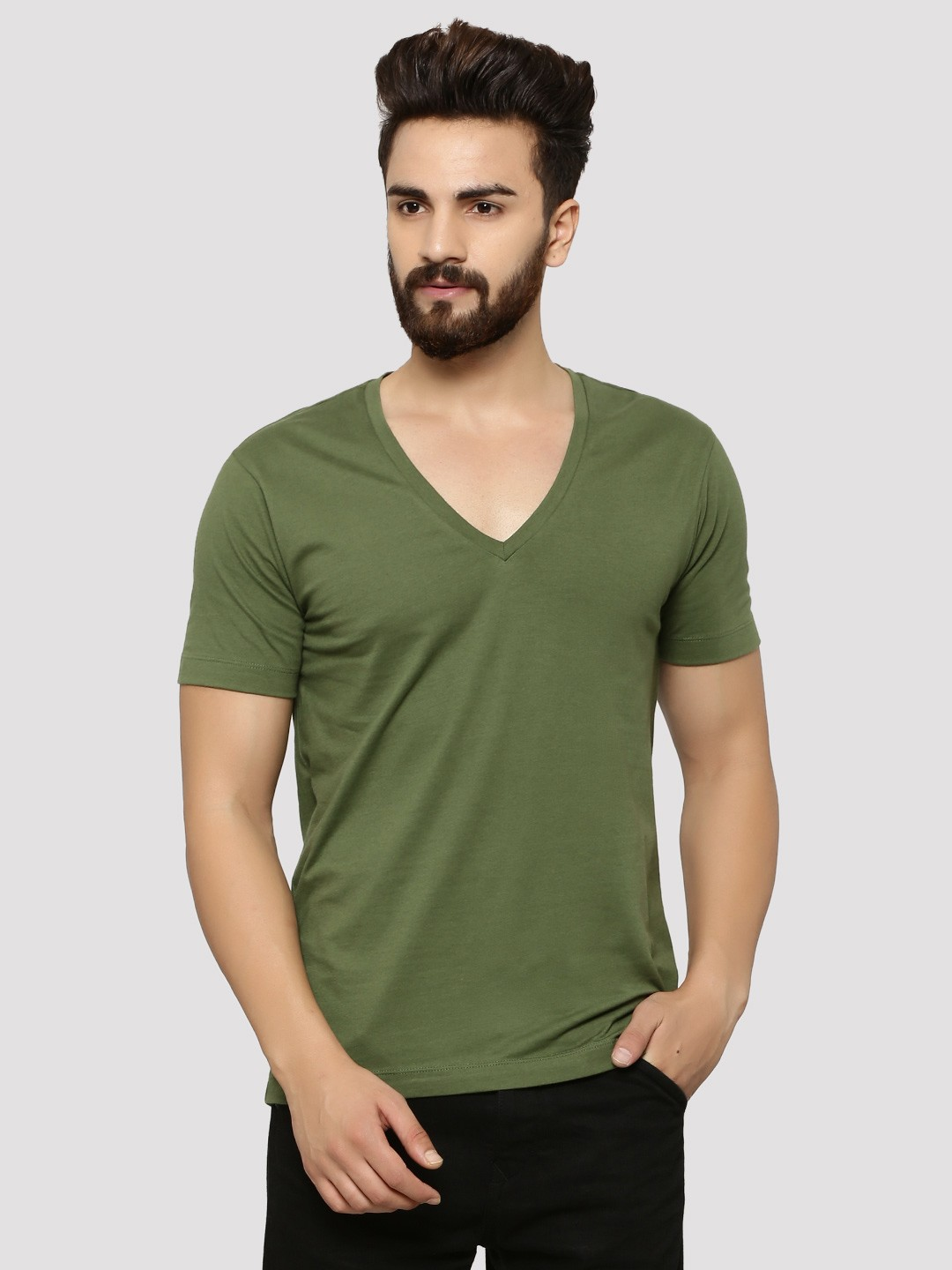 kumau.ml: Buy Men's T-Shirts online at low prices in India at kumau.ml Shop T-Shirts for men from popular brands such as 1ly Cargos, Zovi, Giftsmate and more for best prices at kumau.ml Amazon Try Prime WYO Men's Solid Plain Casual Slim Fit Half Sleeve V-Neck T-Shirt.