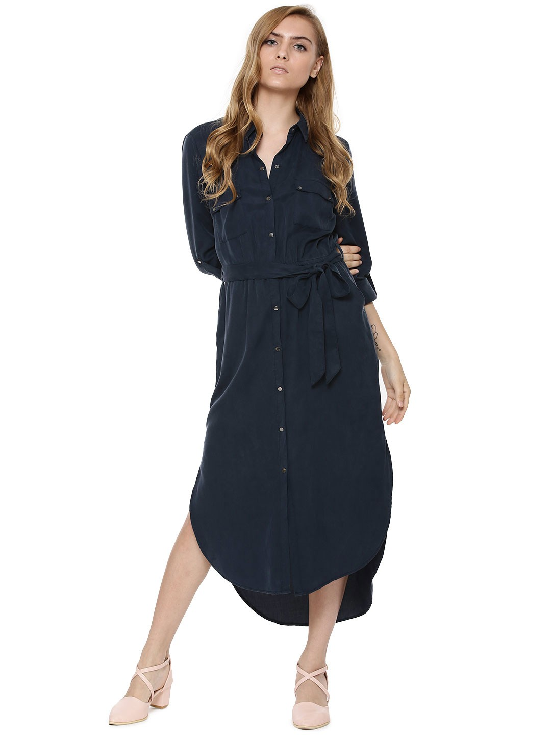 Buy longline shirt dress for women women 39 s navy shirt for Where to buy a dress shirt