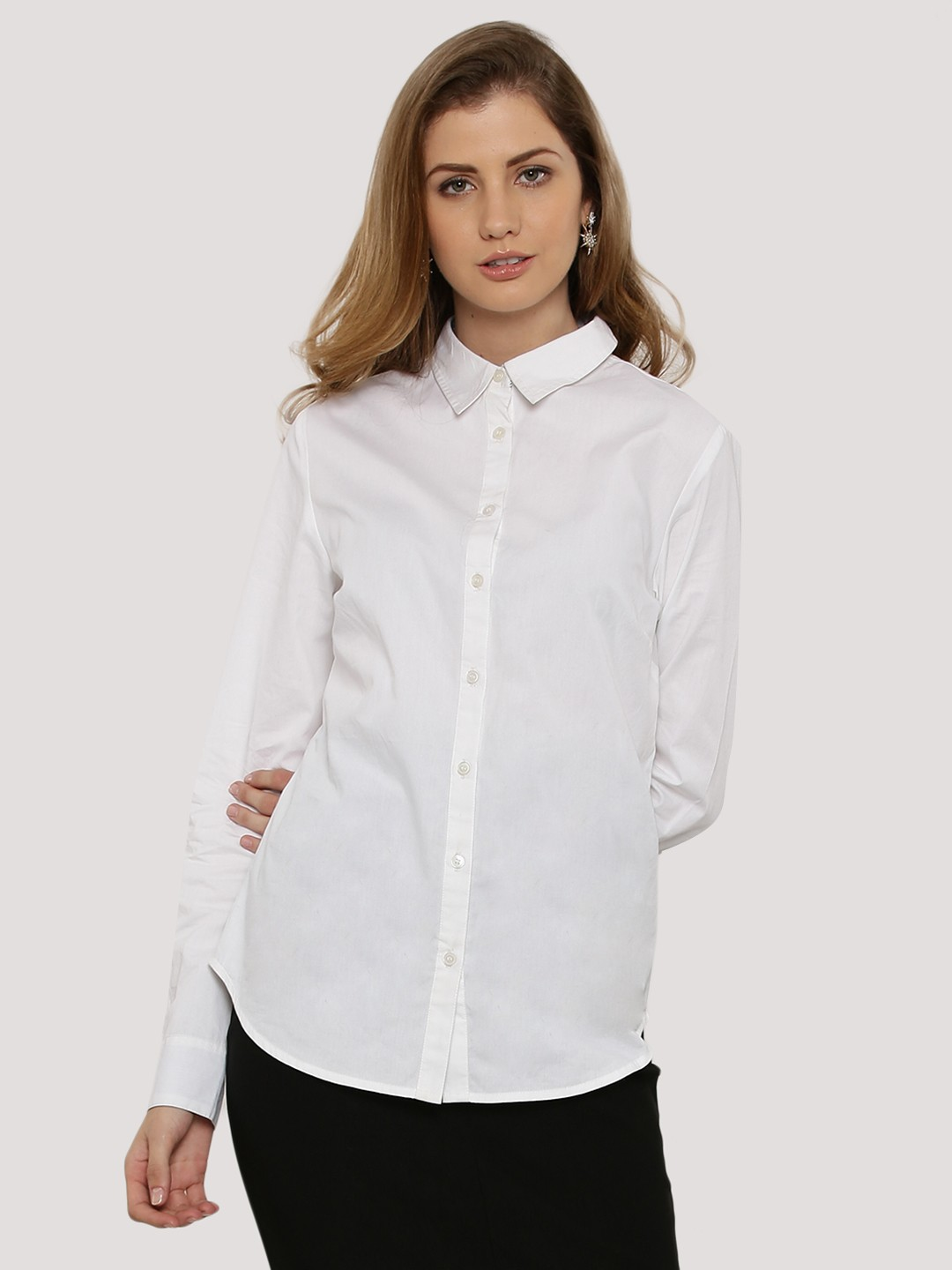 buy tailored fitted shirt for women women 39 s white shirts