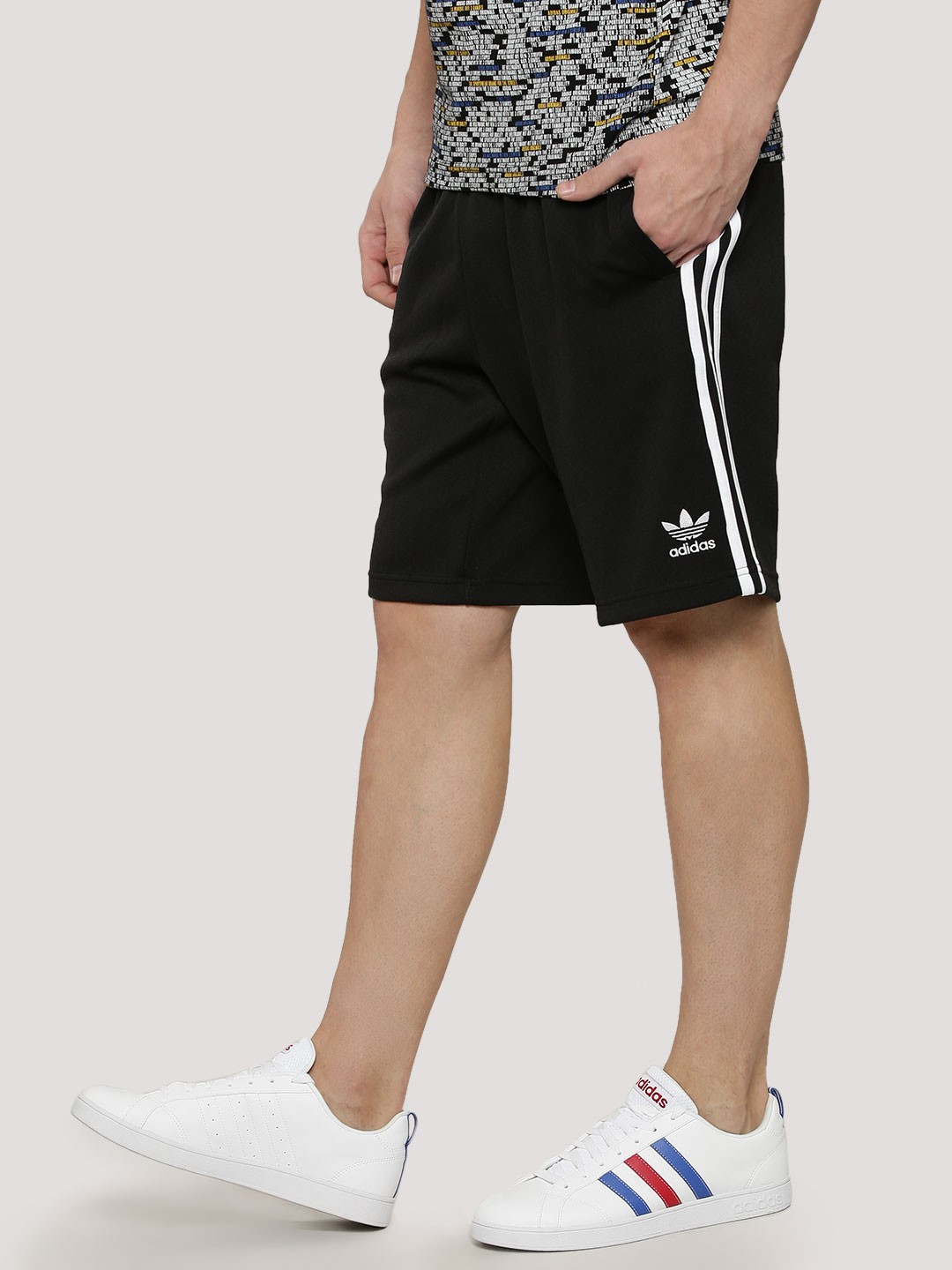 low priced 393de 7ab7c Buy Adidas Originals Black Superstar Shorts for Men Online ...