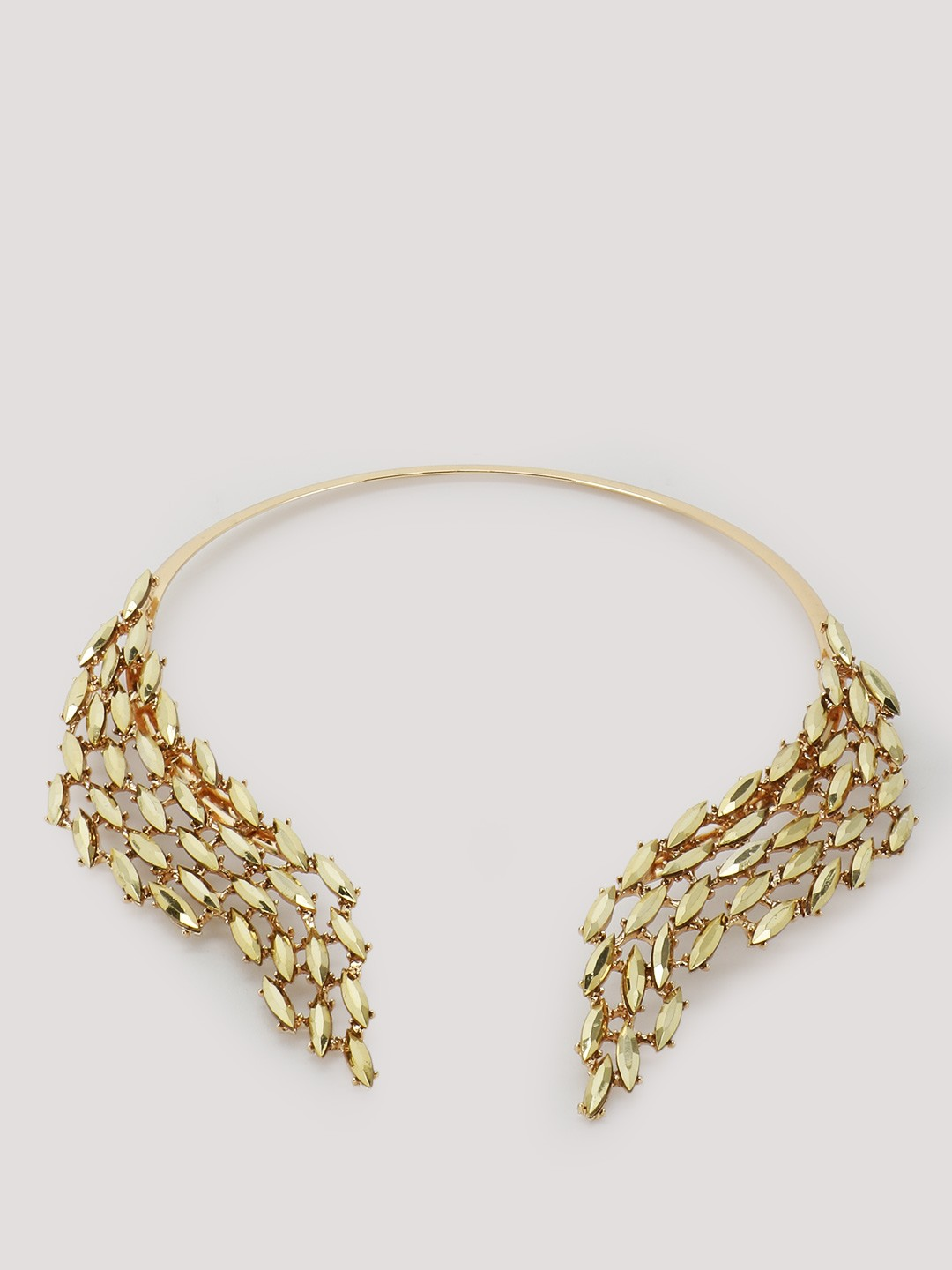 Buy Pipa Bella Gold Open Fauna Collar Necklace for Girls ...