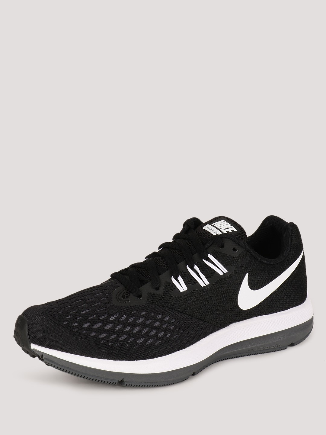 best service acc9c a20b4 Buy Nike Black Zoom Winflo 4 Running Shoes for Girls Online ...