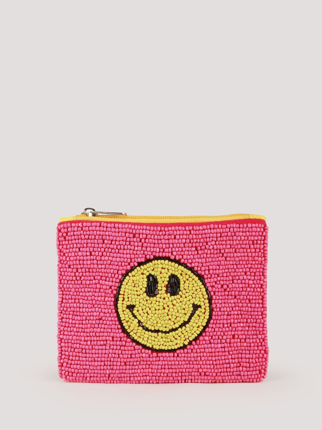Eristona Pink Smile Away Beaded Coin Pouch 1