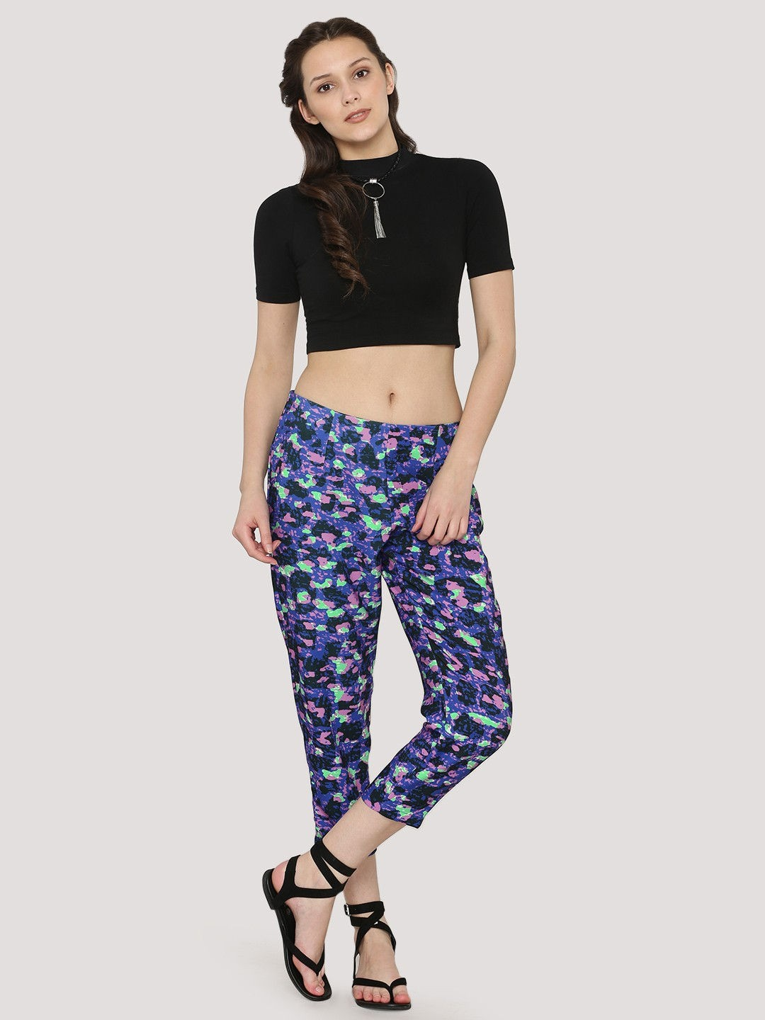 KOOVS Multi Printed Trousers 1
