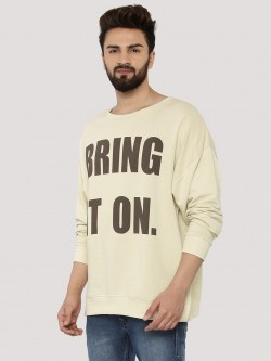Adamo London Slogan Print Boxy Sweatshirt
