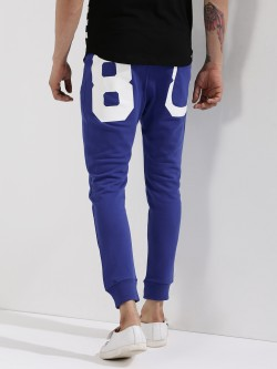 Being Human Joggers With Back Pocket Print