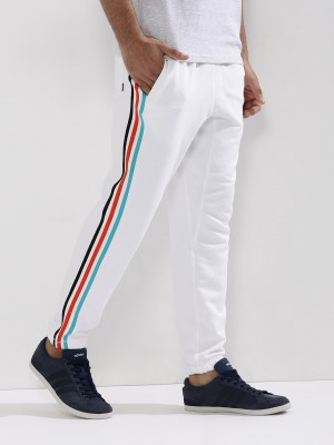 Buy Side Striped Track Pants For Men Men S White Track