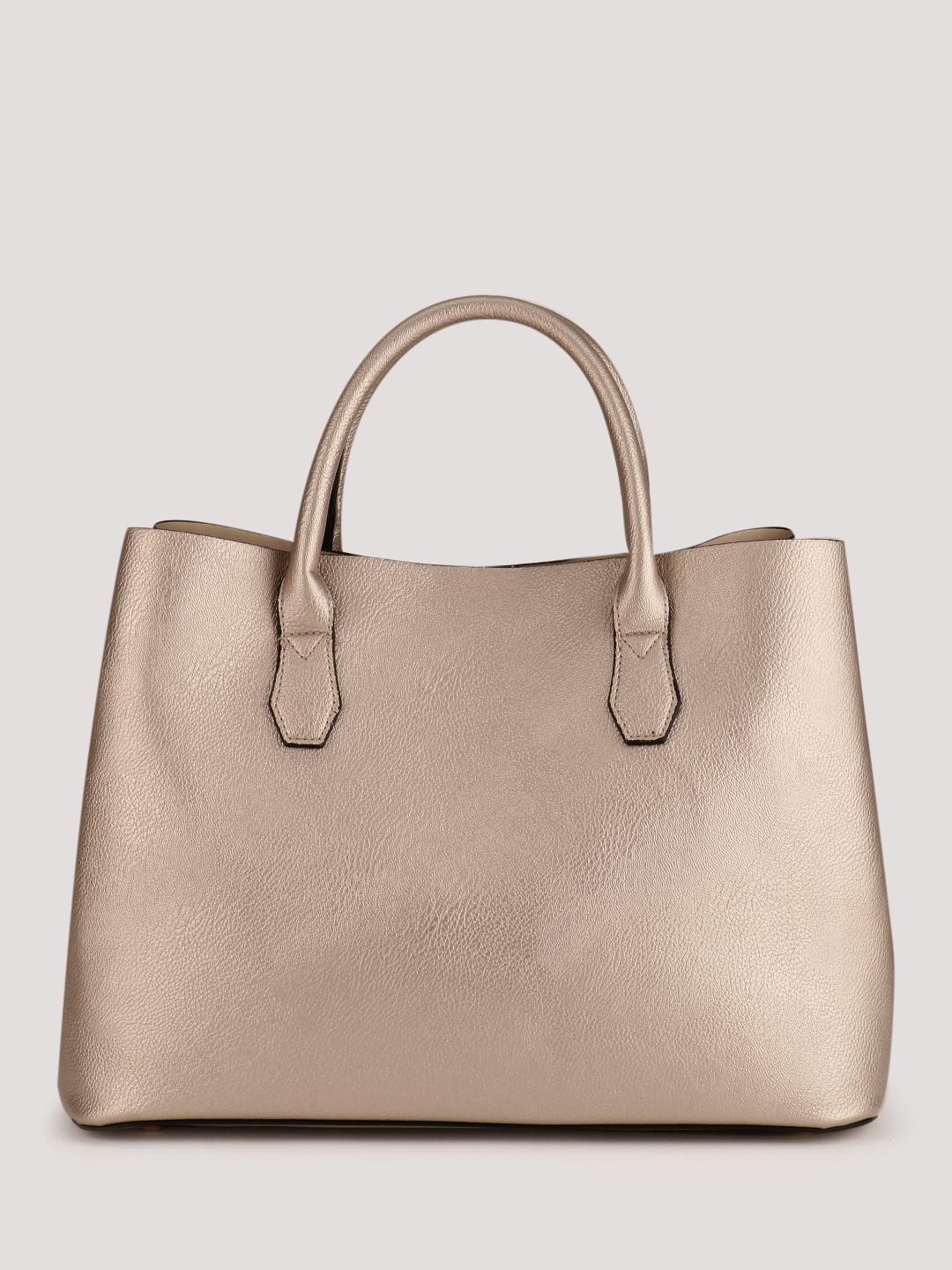 good out x so cheap buying new Buy New Look Rose Gold Metallic Tote Bag for Girls Online in ...