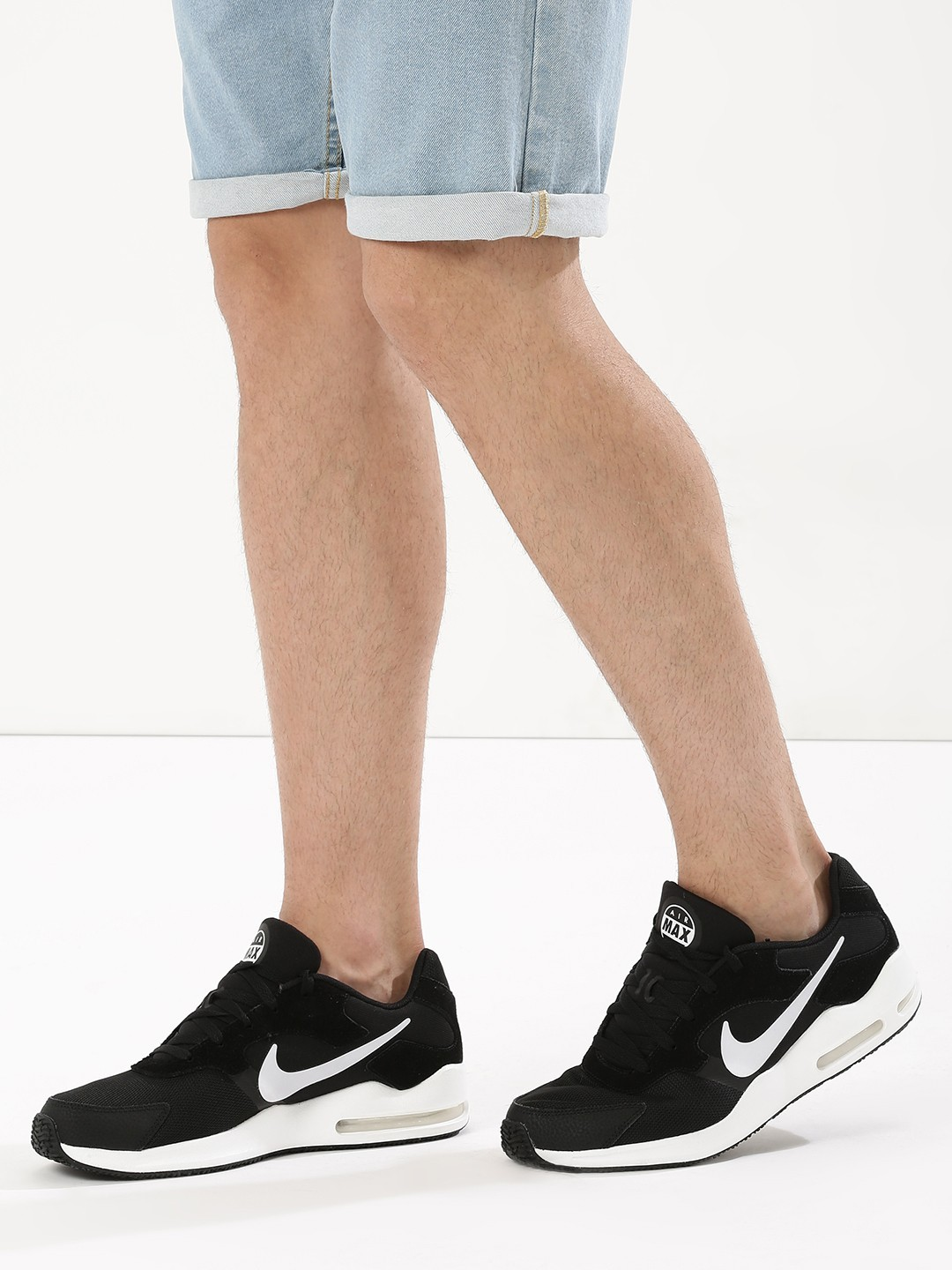 skate shoes shop innovative design Buy Nike Black/White Air Max Guile Trainers for Men Online ...