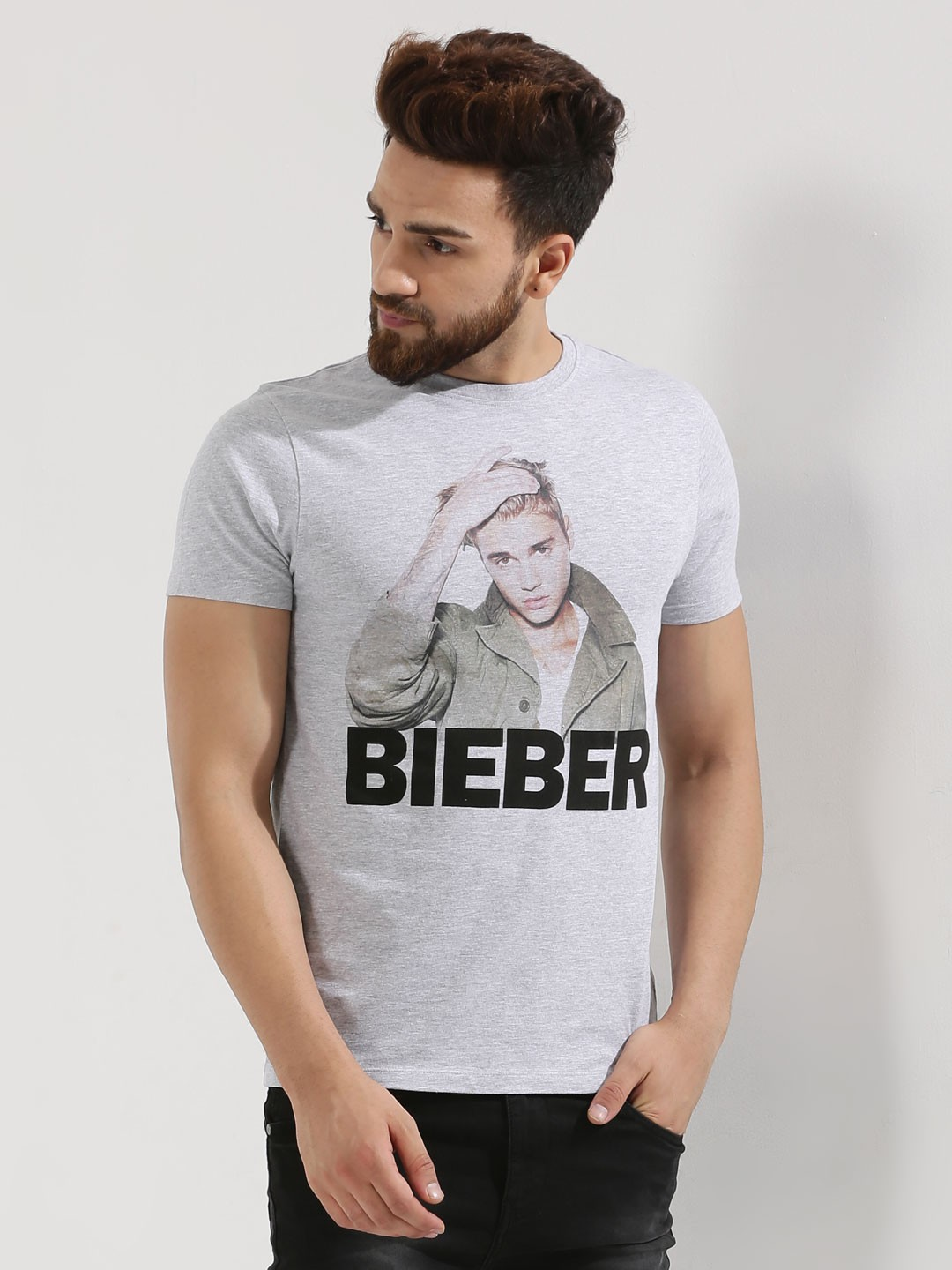 buy limited edition justin bieber t shirt for men men 39 s. Black Bedroom Furniture Sets. Home Design Ideas