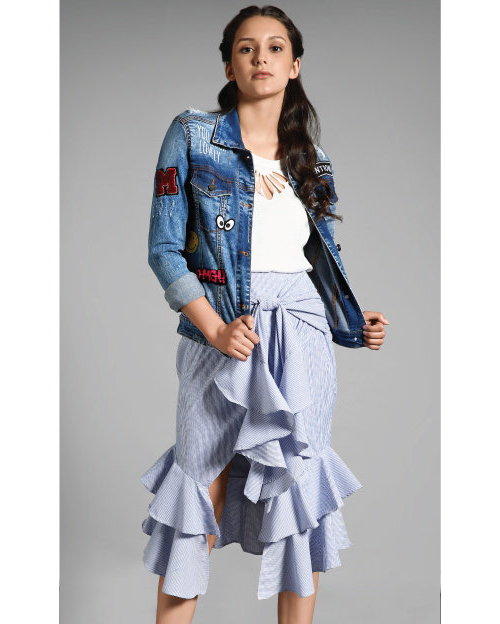 RUFFLE, MEET DENIM