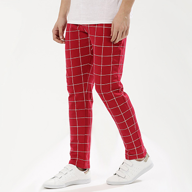 FIGHTING FAME CHECK JOGGERS