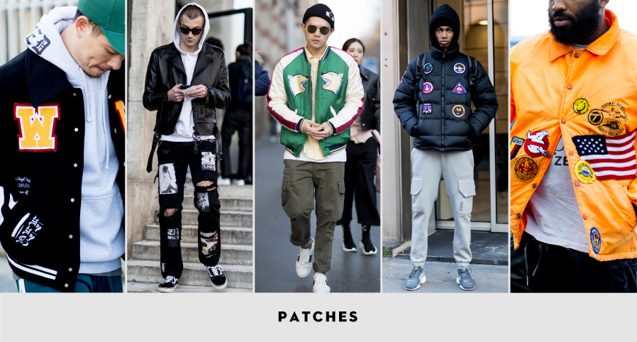 PFW Street Style: Patches